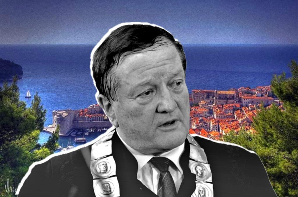 Rođak Borasove žene, diplomirani nautičar i vozač glisera, voditelj je poslijediplomskog centra u Dubrovniku