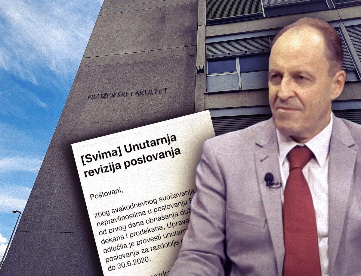 Borasova uprava na Filozofskom daje 237.500 kn na reviziju poslovanja bivše dekanice