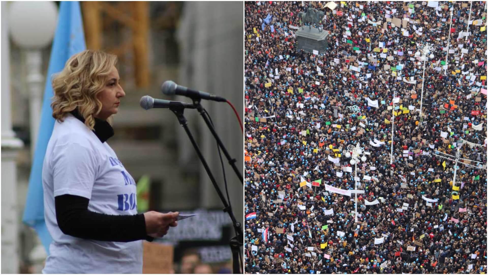 Prošlo je godinu dana od velikog prosvjeda nastavnika; Šprem: 'To zajedništvo pamtit ću dok sam živa'