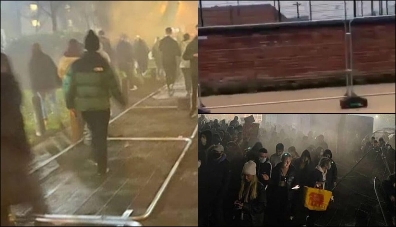 Po kampusu postavili ograde, a studenti ih srušili: 'Ne želimo živjeti u zatvoru'