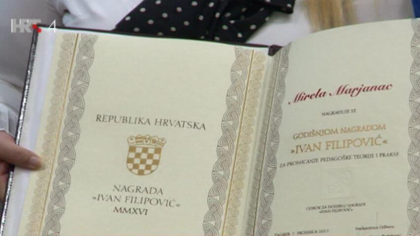 Poznati dobitnici Nagrade Ivan Filipović: Provjerite jesu li i vaši profesori među najboljima