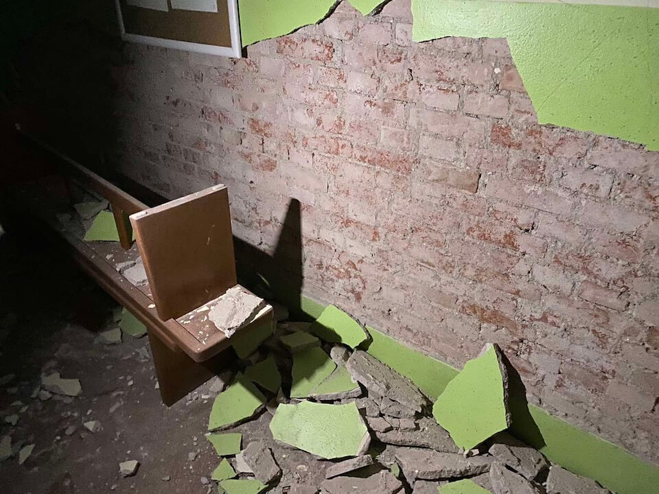 [FOTO] Ovako izgleda zgrada fakulteta u Petrinji nakon što su je pogodila dva razorna potresa