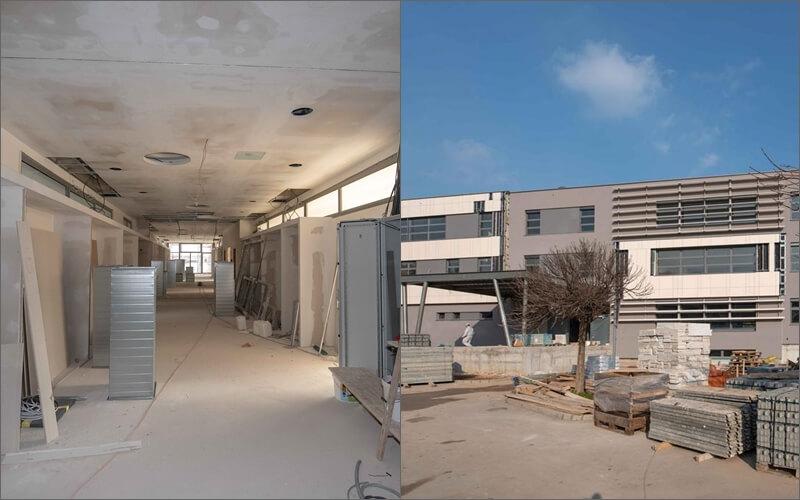 [FOTO] Izgradnja ultramoderne Medicinske škole bliži se kraju, poznato kada otvara svoja vrata