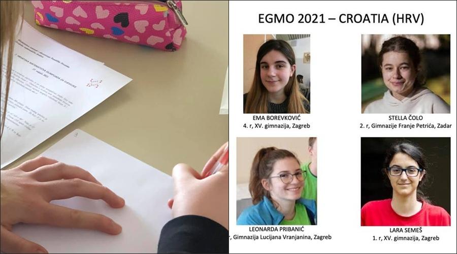 Kakav uspjeh: Dvije hrvatske učenice osvojile medalje na matematičkoj olimpijadi za djevojke