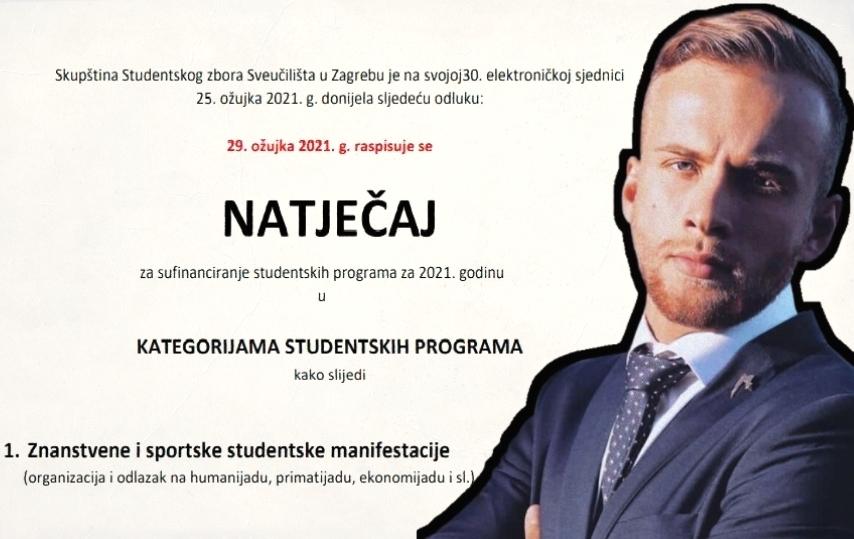mihovil miokovic natjecaj studentski programi