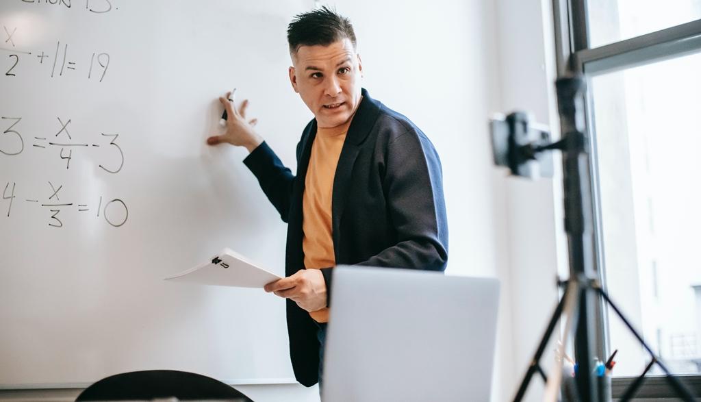 online nastava profesor