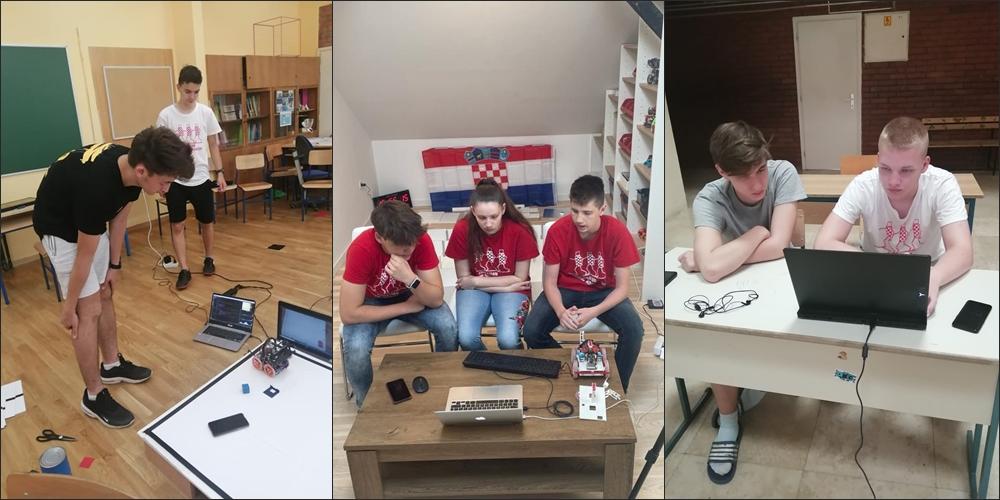 Hrvatska je viceprvak svijeta: Naši učenici briljirali na jednom od najvećih robotičkih natjecanja