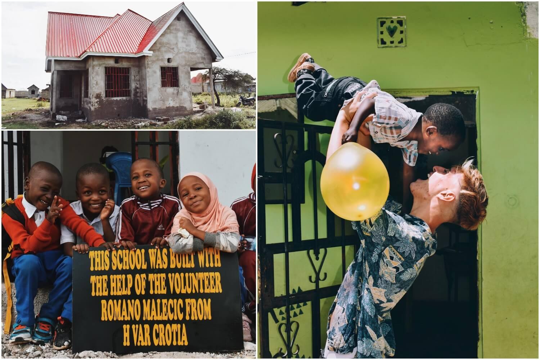 Mladi Hrvat izgradio školu za djecu u Tanzaniji: 'Gradilište smo noću čuvali s noževima u rukama'