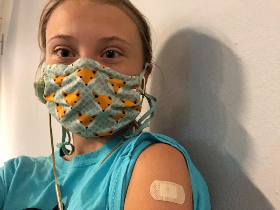 Najpoznatija učenica na svijetu primila cjepivo protiv korone: 'Kad vam se ponudi, nemojte oklijevati'