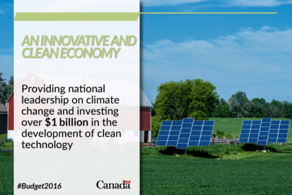 Innovation Funding in the Federal Budget 2016