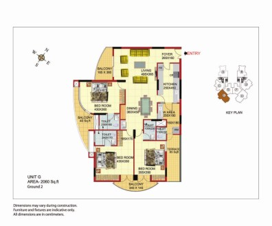 Sree Dhanya Homes - Unit G- Apartments in Trivandrum