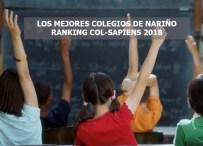 LOS MEJORES COLEGIOS DE NARIÑO SEGÚN EL RANKING COL-SAPIENS 2018