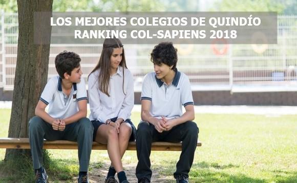 Los mejores colegios de Quindío Ranking Col-Sapiens 2018