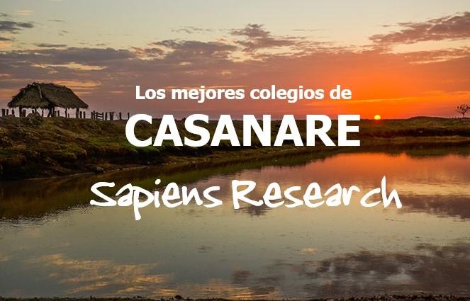 Ranking de los mejores colegios de Casanare