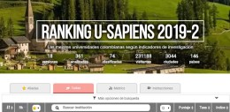 Ranking U-Sapiens 2019-2