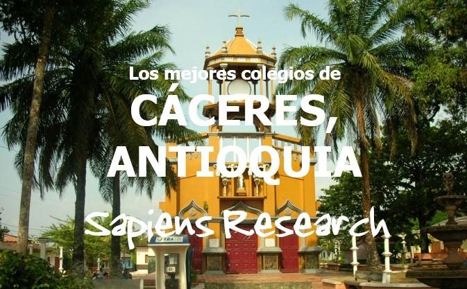 Los mejores colegios de Cáceres, Antioquia