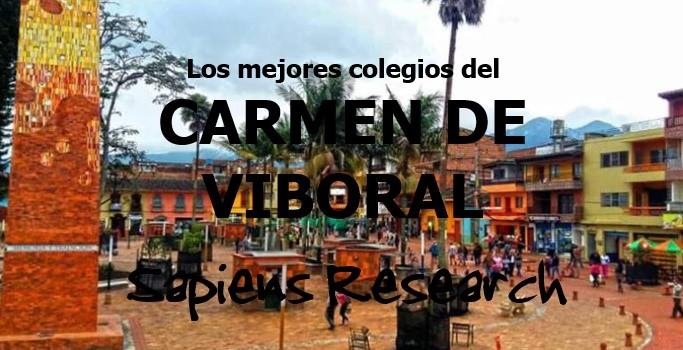 Ranking de los mejores colegios del Carmen de Viboral 2019