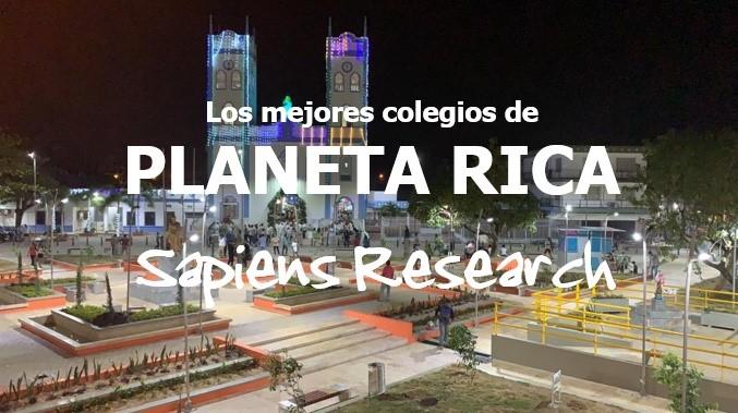 Ranking de los mejores colegios de Planeta Rica 2019-2020