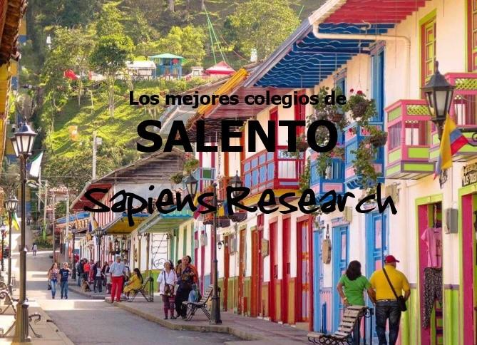 Ranking de los mejores colegios de Salento 2019-2020