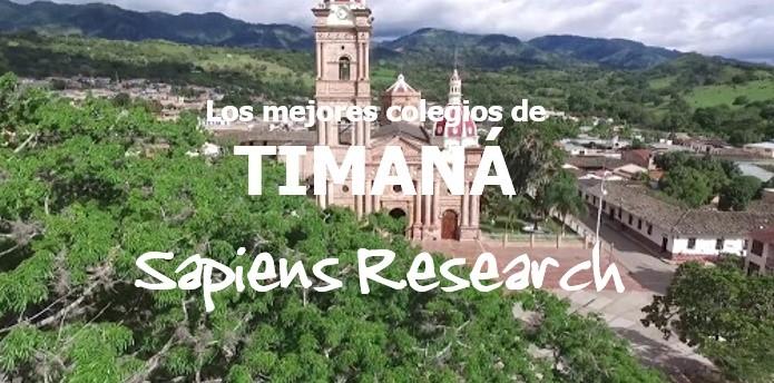 Ranking de los mejores colegios de Timaná 2019-2020