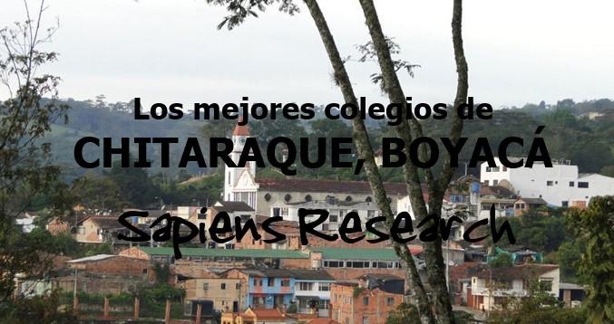 Los mejores colegios de Chitaraque, Boyacá