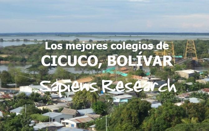 Los mejores colegios de Cicuco, Bolívar