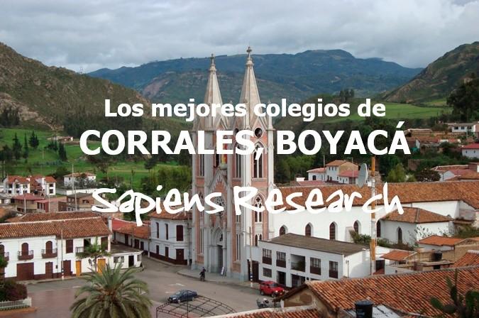 Los mejores colegios de Corrales, Boyacá