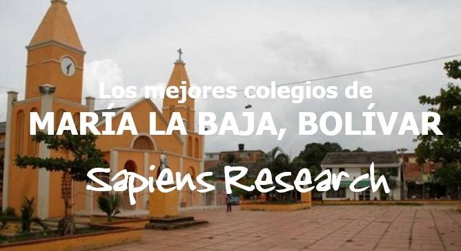 Los mejores colegios de María La Baja, Bolívar