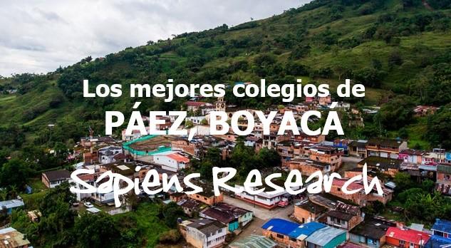 Los mejores colegios de Páez, Boyacá