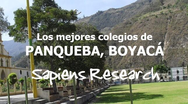 Los mejores colegios de Panqueba, Boyacá