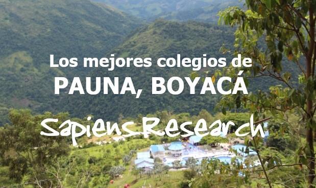 Los mejores colegios de Pauna, Boyacá