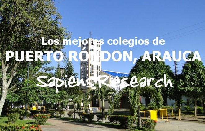 Los mejores colegios de Puerto Rondón, Arauca