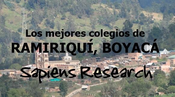 Los mejores colegios de Ramiriquí, Boyacá