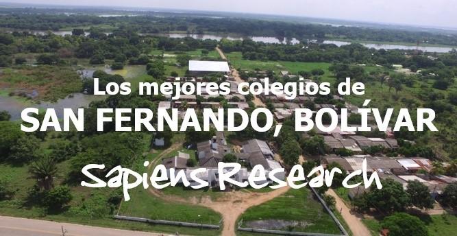 Los mejores colegios de San Fernando, Bolívar