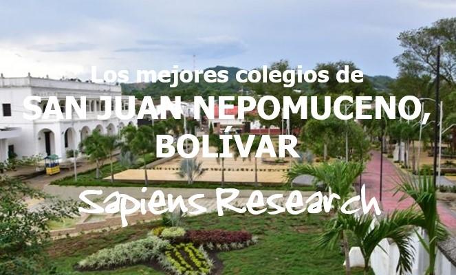 Los mejores colegios de San Juan Nepomuceno, Bolívar