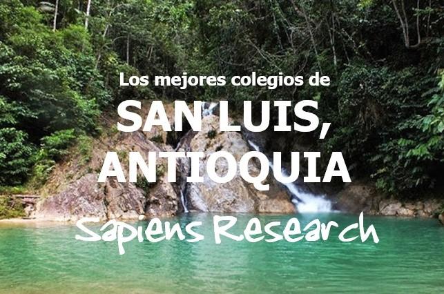 Los mejores colegios de San Luis, Antioquia