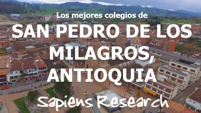 Los mejores colegios de San Pedro de los Milagros, Antioquia