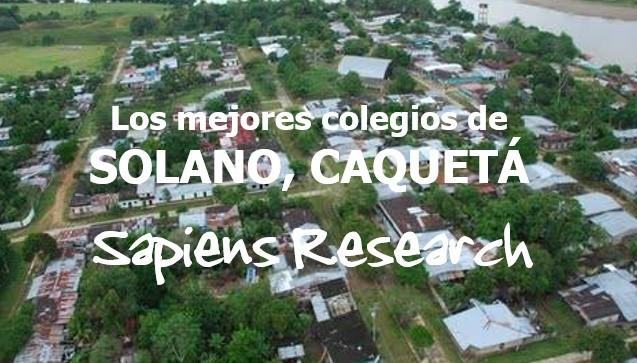 Los mejores colegios de Solano, Caquetá