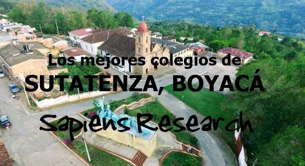 Los mejores colegios de Sutatenza, Boyacá