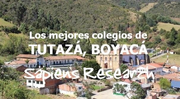 Los mejores colegios de Tutazá, Boyacá