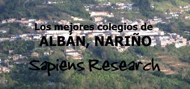 Los mejores colegios de Albán, Nariño