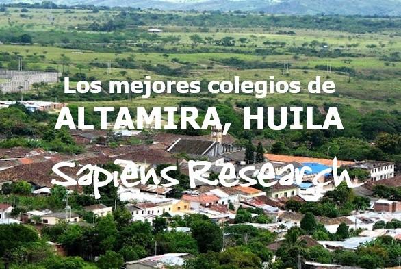 Los mejores colegios de Altamira, Huila