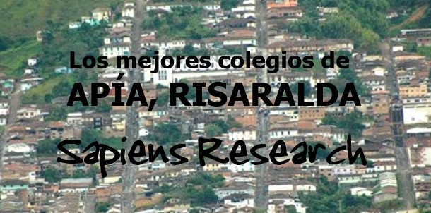 Los mejores colegios de Apía, Risaralda