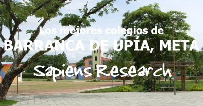 Los mejores colegios de Barranca de Upía, Meta