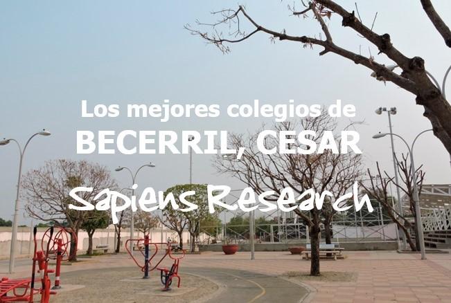Los mejores colegios de Becerril, Cesar