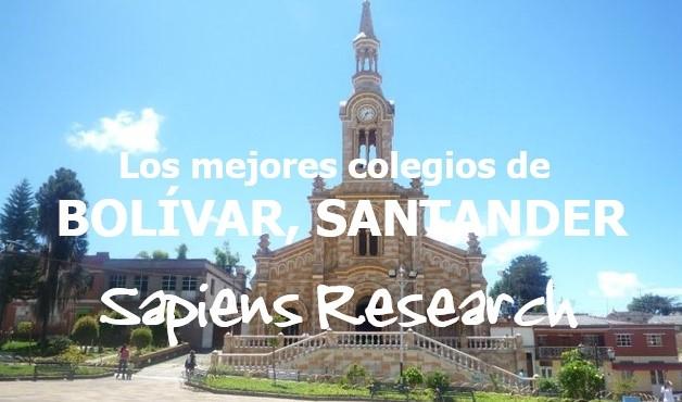 Los mejores colegios de Bolívar, Santander