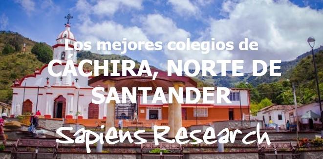 Los mejores colegios de Cáchira, Norte de Santander