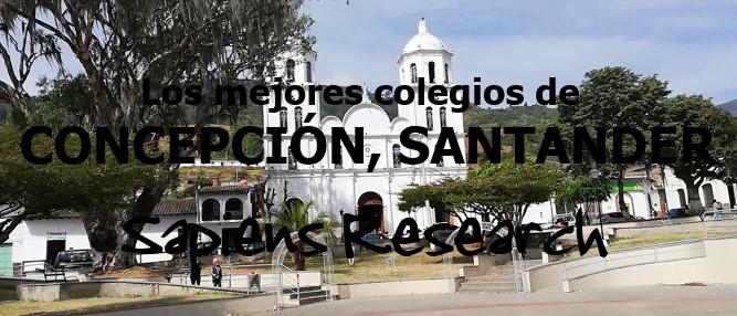 Los mejores colegios de Concepción, Santander