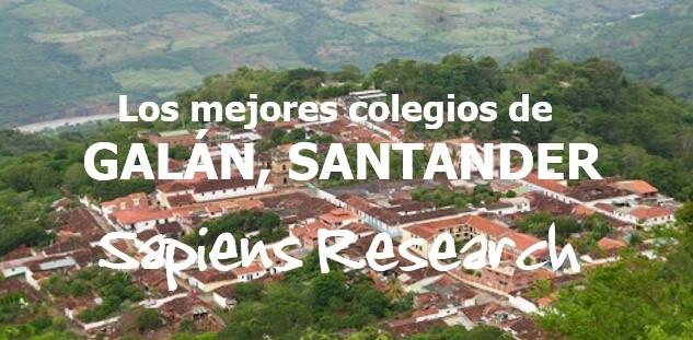 Los mejores colegios de Galán, Santander