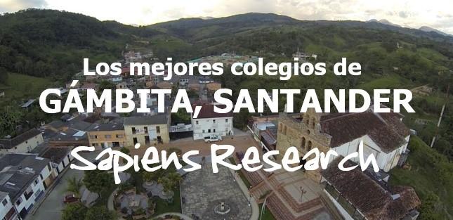 Los mejores colegios de Gámbita, Santander